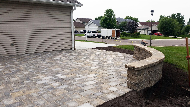 retaining walls concrete excellence burnsville mn