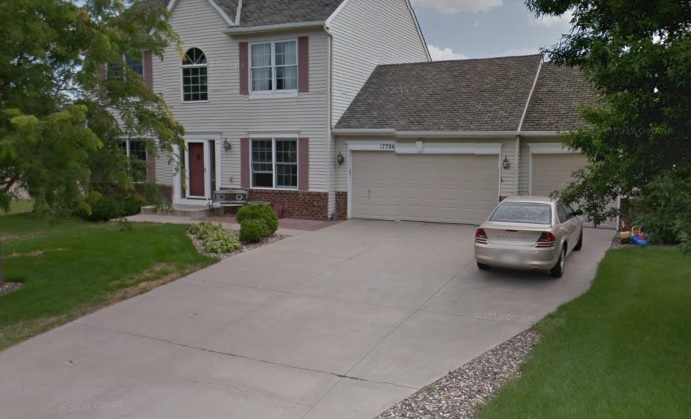 This home was the site of a new concrete driveway and new patio - Concrete Excellence