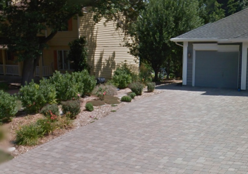 Concrete Excellence was happy to build this concrete driveway in apply valley